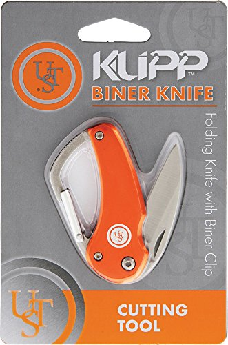 UST Klipp Biner Knife Orange
