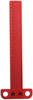 MYFT Woodpeckers - Scriber Tool T Square Woodwork with Clear Scale for Woodworking and DIY Woodwork Enthusiasts (Size : T-...