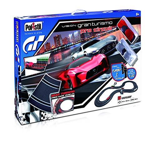 Polistil Pista elettrica Vision Gran Turismo Pro Circuit 1:32
