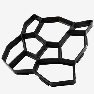 "On-Airstore 19.6""x19.6""x1.7"" Walk Maker Reusable Concrete Pathmate Stone Molding Stepping Stone Paver Lawn Patio Yard Gard..."