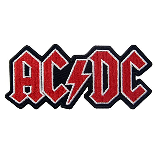 CasStar Aufnaeher Aufbuegler Patches Applikation Buegelbild AC/DC Rock Heavy Metal Punk Music Band