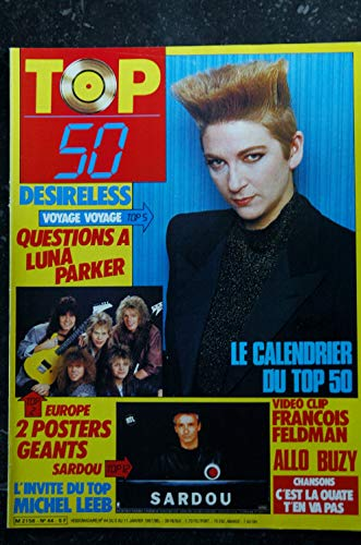 TOP 50 044 1987 01 * DESIRELESS EUROPE SARDOU FELDMAN LEEB