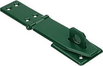 KOTARBAU® Overval 165 mm groen overvalscharnier sprei pantservergrendeling deurslot veiligheidsoverval gepoedercoat haspe ...