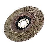 MagiDeal Disque Abrasifs pour Ponceuse Grains pour Diamanté Granit Marbre Verre - 120Grit, 125mm
