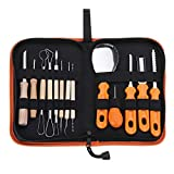 LanGuShi LGJ0305 Halloween Calabaza Tallado Kit Herramientas Calabaza Corte Kit de Afeitado Herramientas de Tallado Multifunción