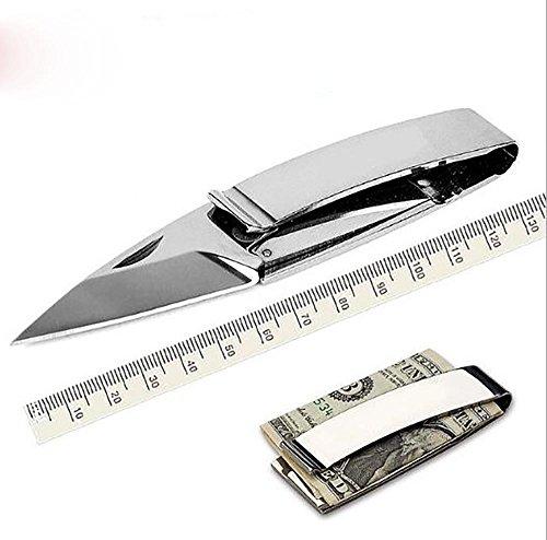 Ideaselection Outdoor klappmesser Utility Handwerkzeuge EDC Tools Clipster,Money Clips Pocket Knife schlüsselanhänger,Slim Wallet,Bill Clips,clipster,Geld-Clips,taschenmesser,schlanke Brieftasche