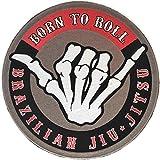 BJJ Patch Born to Roll/Jiu Jitsu Gi Patches