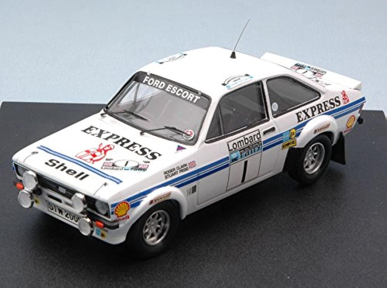 FORD ESCORT MK II EXPRESS N.1 4th R.A.C. 1977 CLARK-PEGG 1 43 - Auto Rtuttiy - Trofeu - Die Cast - modellolino