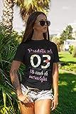 Zoom IMG-2 fashwork t shirt maglietta compleanno