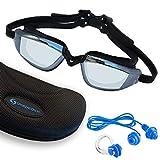 Sportastisch Schwimmbrille SPITZENSPORTLER Test¹ SwimStar mit Antibeschlag UV Schutz, Verstellbar &...