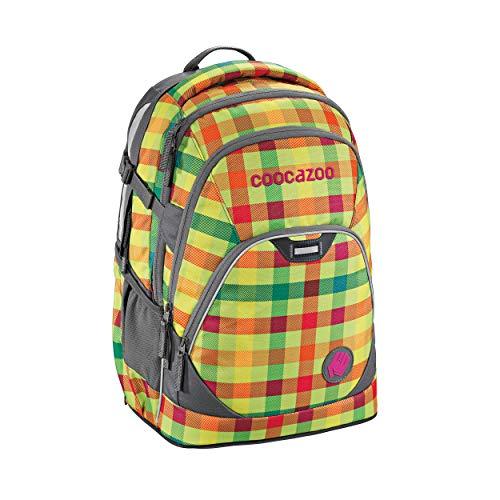 Coocazoo–Stadt und die Schule EvverClevver 2Rucksack 45cm Hüfte zu einem quadratisch grün
