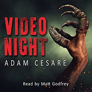 Video Night: A Novel of Alien Horror                   By:                                                                                                                                 Adam Cesare                               Narrated by:                                                                                                                                 Matt Godfrey                      Length: 8 hrs and 22 mins     188 ratings     Overall 4.2