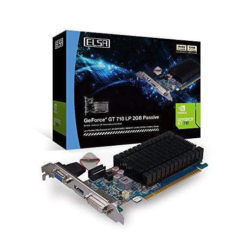 ELSA GeForce GT 710 LP 2GB Passive グラフィックスボード VD6124 GD710-2GERLP