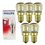 Philips 5x Backofenlampe 15W 230...
