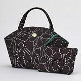 【Sybilla 】シビラ バッグインバッグ (ブラック) 花柄 婦人 シビラ 143008-0201-60