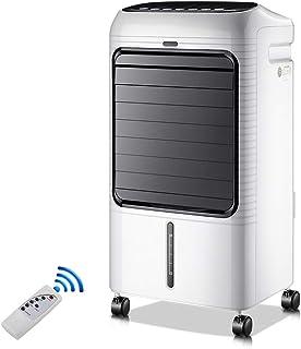 MLXG Enfriador de Agua portátil con Ventilador de Aire Acondicionado 8 en 1 con Control Remoto y Pantalla LED Tanque de Agua de 8L Temporizador de 7.5 Horas para Uso en el hogar