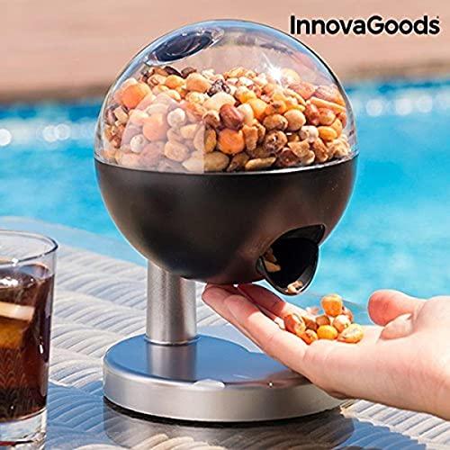 InnovaGoods- Mini Dispenser Automatico di Caramelle e Frutta secca, Multicolore, 15,5 x 21,5 x 16,0, IG11396