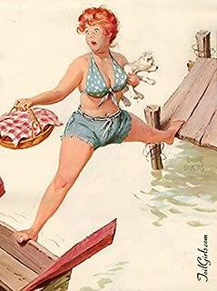 Hilda #151 Plus Size Pin Up Vintage Reproduction Print 11 x 17