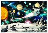 Espacio puzzle 1000 piezas Rompecabezas,Puzzles de Espacio para adultos Niños, Educational Game para Aliviar Estrés Juego Intelectual Cerebro Desafío, Los Reyes Magos Navidad Juguete De Regalo Ideal