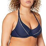 Esprit Bodywear Estero Beach BC Underwire Solid Bikini, Azul (Navy), 38D (Talla del Fabricante: 38 D) para Mujer
