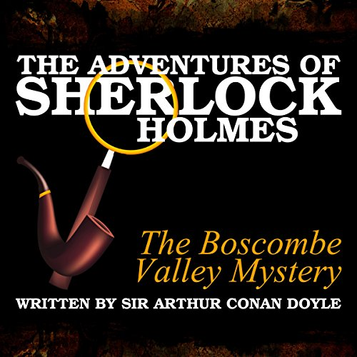 The Adventures of Sherlock Holmes: The Boscombe Valley Mystery cover art