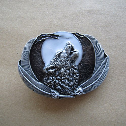Boucle Ceinture pour lanière Universelle Loup Country