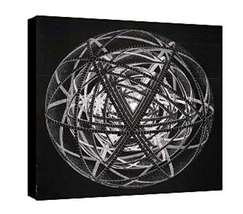 Quadro intelaiato Pronto da Appendere Escher 31 cm 70x70 Stampa su Tela Canvas Vendita Falsi di Autore Il Negozio di Alex