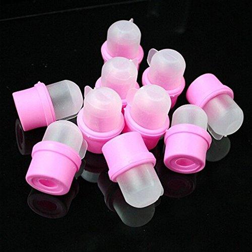 Buyonline Lot de 10 dissolvants à ongles Spécial vernis en gel UV acrylique