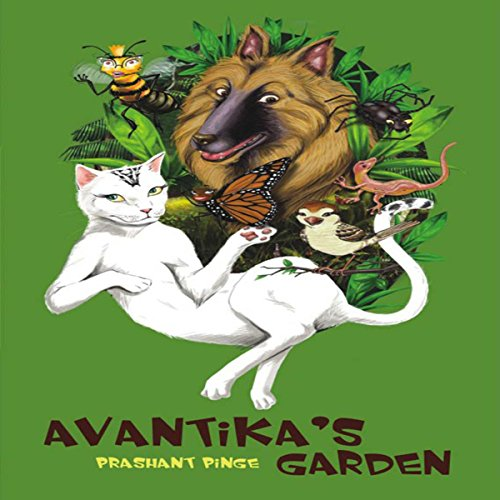 Avantika's Garden audiobook cover art
