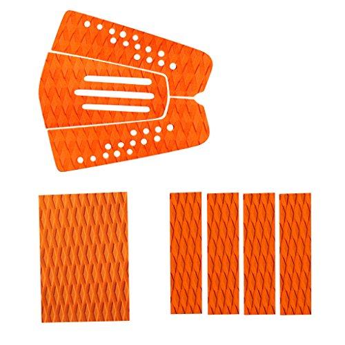 Sharplace 8X Almohadilla de Surf Tracción EVA Avanzado Antideslizante Almohadilla de Cola de Tracción de Tabla de Surf