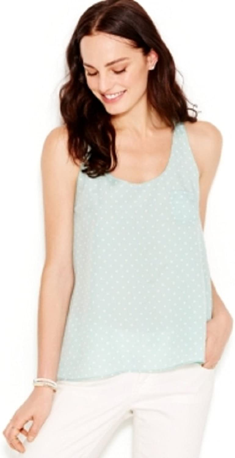 Maison Jules Woven Printed Tank Top