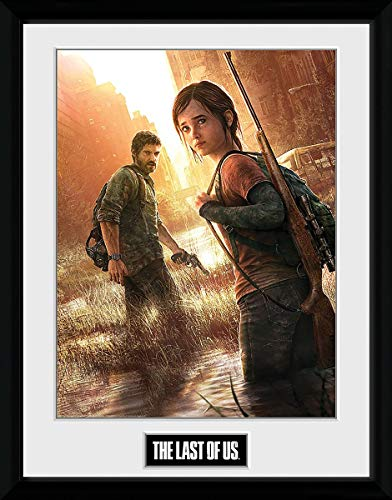 The Last Of Us Key Art Gerahmter Kunstdruck, 30 x 40 cm
