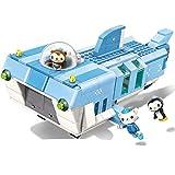Bloques de construcción Enlighten Creator Ideas Base Móvil De Tiburón Blanco Octonautas Bloques De Construcción De Dibujos Animados Juegos De Modelos Niños Juguete Compatible