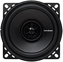 Rockford Fosgate R14X2 Prime 4-Inch Full Range Coaxial Speaker – Set of 2