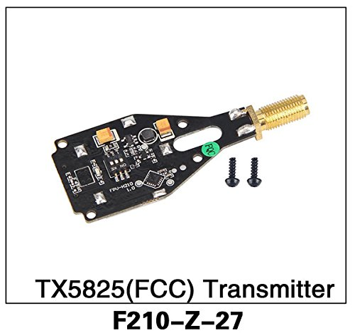 Walkera F210 RC Helicopter Quadcopter Spare Parts F210-Z-27 TX5825(FCC) Transmitter