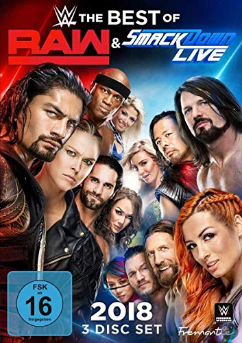 WWE: The Best Of Raw And Smackdown 2018 [3 DVDs]