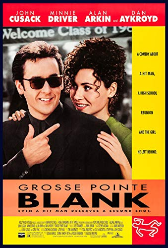GROSSE POINTE BLANK MOVIE POSTER 2 Sided ORIGINAL Version B ROLLED 27x40