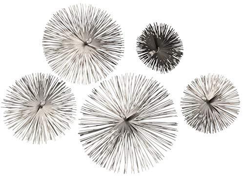 KOTARBAU Schornsteinbesen 200 mm Aus Federstahl Kaminbesen Rußbesen Kaminbürste Kaminreiniger Gemauerte Schornstein Kamin