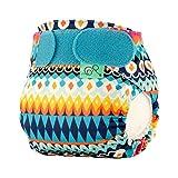 Totsbots, pannolino riutilizzabile e lavabile, motivo caleidoscopio, per bambini di peso tra 2,26 e 5,4kg