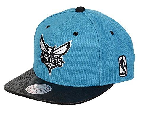 Charlotte Hornets–Mitchell & Ness–Gorra Speedway–eu501–Turquoise/Black turquesa