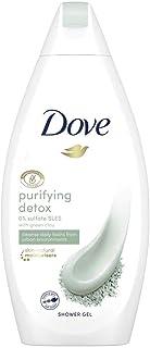 Dove Purifying Detox Green Clay Body Wash, 16.9 Ounce (500 ml)