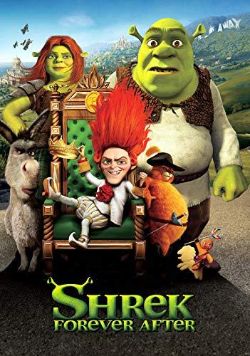 Slbtr - 1000 Piezas Puzzle - Shrek para Siempre Después De Carteles De Cine - Rompecabezas para Niños Adultos Juego Creativo Rompecabezas Navidad Decoración del Hogar Regalo