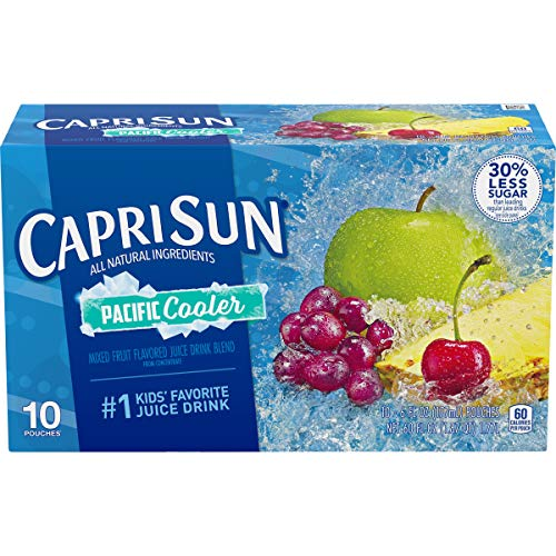 Capri Sun Pacific Cooler ReadytoDrink Juice 10 Pouches