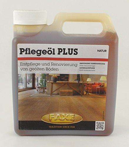 Faxe Pflegeöl PLUS natur 1L Holzbodenöl Fußboden Boden Holz Öl