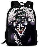 TTmom Zaini/Zaino Casual,Borse a Zainetto Jokers Smile Unisex Backpack Shoulder Bag School Backpack Travel Bags Laptop Backpack