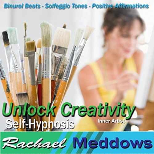 Unlock Creativity Hypnosis audiobook cover art