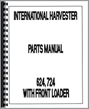 Parts Manual International Harvester 624 724 Diesel Tractor w/ Front Loader