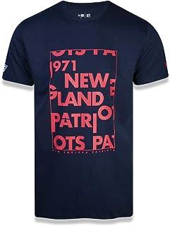 CAMISETA NFL NEW ENGLAND PATRIOTS CORE LETTERS FRAME MARINHO New Era