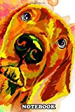 Notebook: Doberman Water Color Art Poster Decor , Journal for Writing, College Ruled Size 6' x 9', 110 Pages