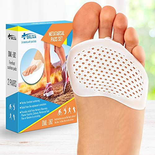 Ball of Foot Cushions (2PAIRS) - Metatarsal Pads Forefoot Pad -...